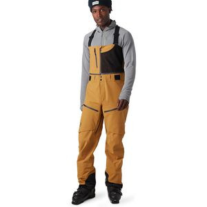 Cottonwoods GORE-TEX Bib Pant - Men's Bone Brown, L - Excellent