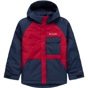 Casual Slopes Jacket - Boys' Mountain Red Heather/Coll Navy Heather, M - Good