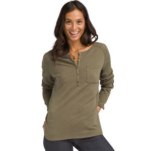Hensley Henley Top - Women's Rye Green,L - Good