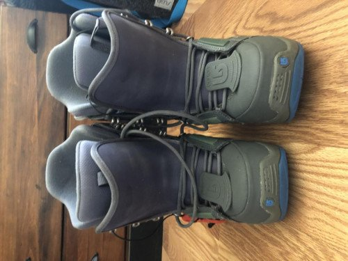 Like New Burton Snowboarding Boots Women's 7.5