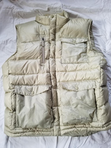 MEN'S BURTON [AK]® DOWN VEST XL Beige