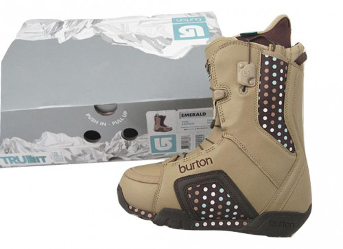 NEW Burton Emerald Snowboard Boots! US 5.5 UK 3.5 Euro 36  Tan