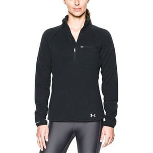 Wintersweet 1/2-Zip Fleece Pullover - Women's Black/Glacier Gray, S - Excellent