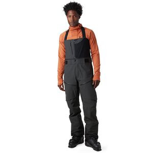 Cottonwoods Gore-Tex Bib Pant - Men's Pirate Black, L - Excellent