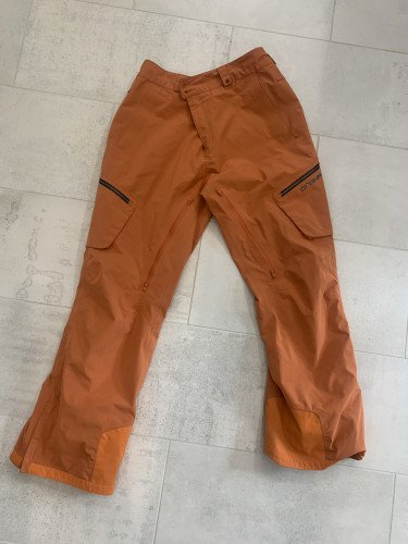 Mens Dakine ski snowboard pants xl orange