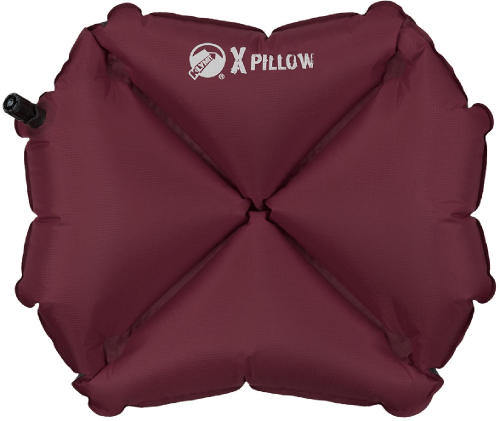 Klymit X Inflatable Pillow Maroon REI