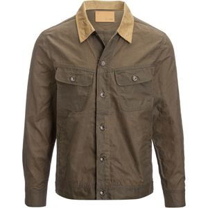 The Long Haul Jacket - Men's Tobacco Waxed Canvas, XL - Excellent