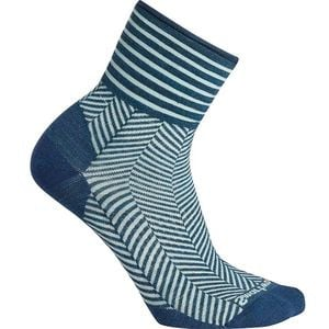 Herringbone Mini Boot Sock - Women's Deep Marlin, S - Like New