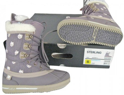 NEW $350 Burton Sterling Womens Snowboard Boots! US 8.5 UK 6.5 Purple