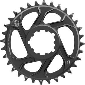 X-Sync 2 Eagle 12-Speed Direct Mount Chainring Black, 30T/6mm Offset - Excellent