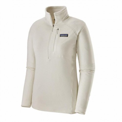 NEW NWT 2019 Patagonia Women's R1 Pullover Regulator Jacket White $129