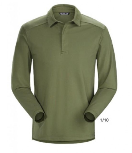 Arc'teryx Captive Polo Long Sleeve Shirt- Mens Size Large