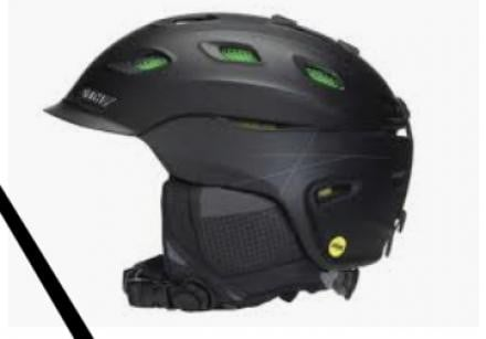 Smith vantage mips helmet with matching goggles