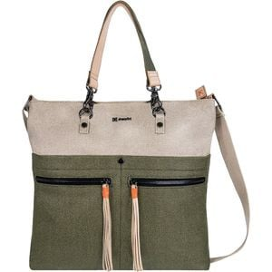 Faith Handbag/Cross Body Purse - Women's Natural/Moss, One Size - Good
