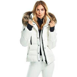 Matte Decade Down Jacket - Women's White/Natural, S - Good