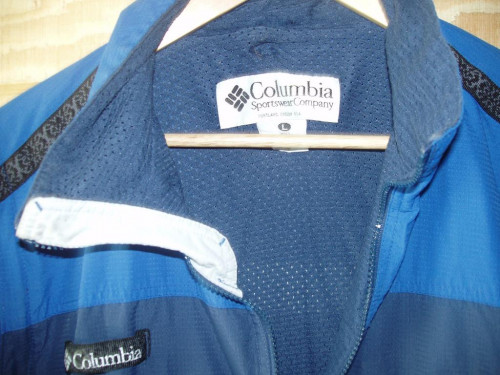 Columbia Polyester Nylon With zip off sleeves Men L