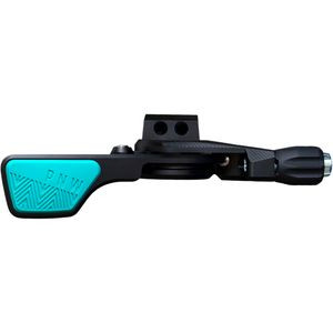 Loam Lever Black/Teal, I-Spec EV - Excellent