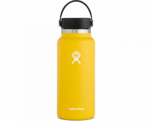 Hydro Flask 32oz Wide Mouth Water Bottle- SUNFLOWER