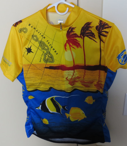 HAWAIIAN ISLANDS BIKE JERSEY