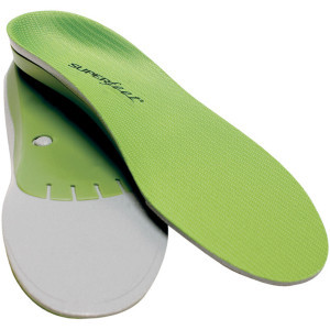Trim-To-Fit Green Insole Green, A 2.5-4W/13.5-2JR - Good