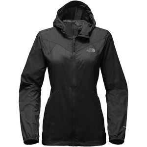 Flyweight Hooded Jacket - Women's Tnf Black, L - Excellent