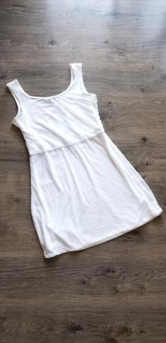 Prana Summer Dress Small White Boho