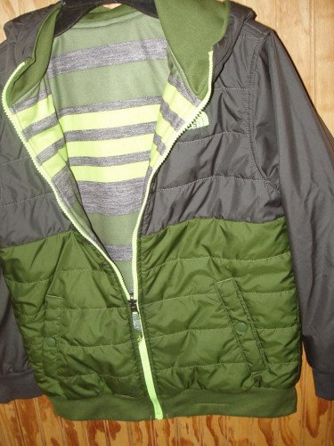 The North Face Jacket Size 10-12 REVERSABLE