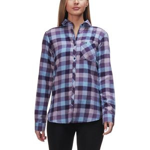 Simply Put II Flannel Shirt - Women's Dark Plum Check, XS - Good