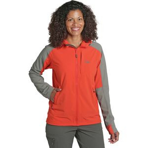 Ferrosi Hooded Jacket - Women's Paprika/Pewter, XS - Good