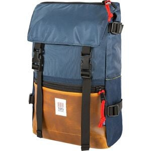 Rover 20L Pack - Heritage Navy/Brown Leather, One Size - Excellent