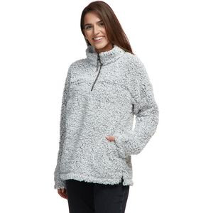 Frosty Tipped Pile Stadium Pullover - Women's Heather, XS - Excellent