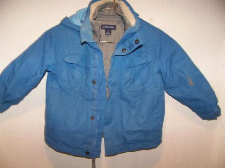 Lands End System Winter Ski Jacket Kids Small 4