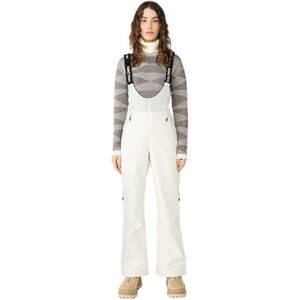 Sadie Bib Pant - Women's Chalk, M - Good