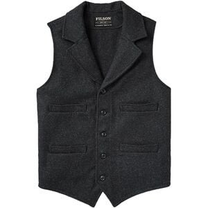 Mackinaw Western Vest - Men's Charcoal, M - Excellent