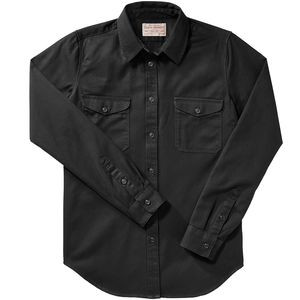 6oz Drill Chino Shirt - Women's Black, L - Excellent