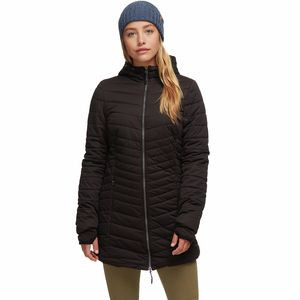 Stretch Insulated Parka - Women's Black/Black, L - Excellent