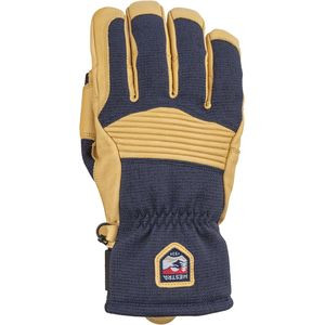 Army Leather Couloir Glove - Men's Navy/Tan, 8 - Excellent