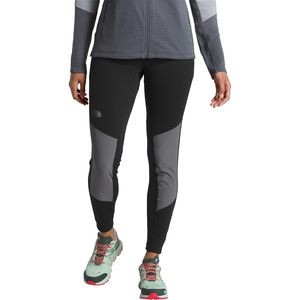 Impendor Warm Hybrid Tight - Women's Tnf Black/Vanadis Grey, XS - Good