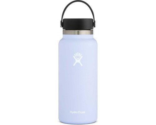 HYDRO FLASK 32OZ WIDE MOUTH WATER BOTTLE- Fog