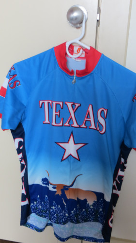 TEXAS WOMEN BIKING SHIRT