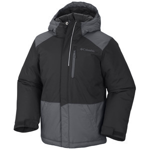 Lightning Lift Jacket - Boys' Black/Graphite, XXS - Fair