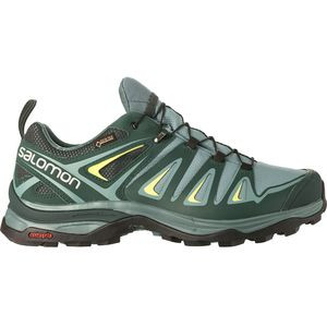 X Ultra 3 GTX Wide Hiking Shoe - Women's Artic/Darkest Spruce/Sunny Lime, US 7.0/UK 5.5 - Good