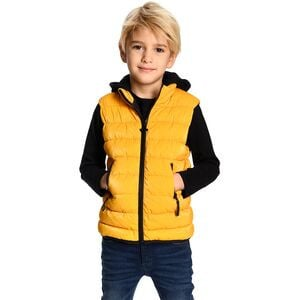 Apex Puffer Vest - Boys' Old Gold, 8 - Good