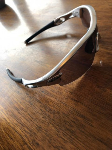 Oakley Radar - silver w/ case