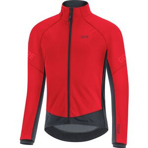 C3 Gore-Tex Infinium Thermo Jacket - Men's Red/Black, XL - Excellent