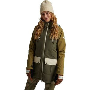 Prowess Jacket - Women's Keef/Martini Olive/Creme Brulee, XS - Fair