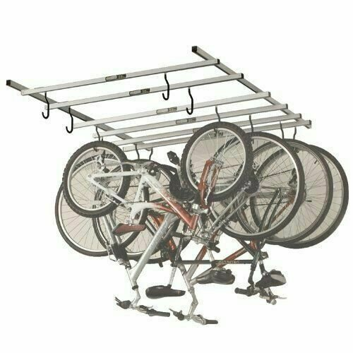 Saris 6 bike storage rack.
