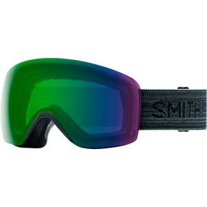 Skyline ChromaPop Goggles Deep Forest/Chroma Ed Green Mir/No Extra Lens, One Size - Good