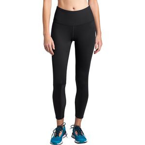 Active Trail Mesh High-Rise 7/8 Tight - Women's Tnf Black, L - Good