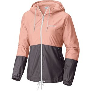 Flash Forward Lined Windbreaker - Women's Light Coral/Pulse, XS - Excellent